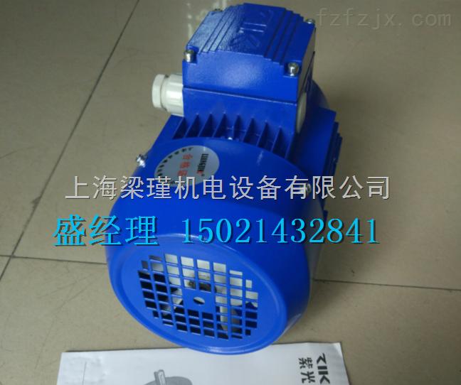 MS5614(0.06KW)ZIK紫光三相异步电机